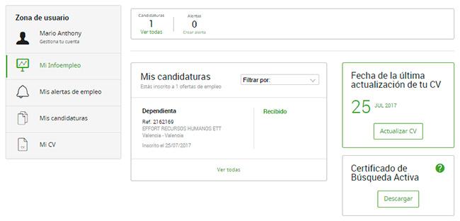 Cómo optimizar su perfil de Infoempleo